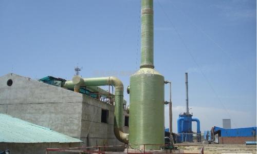 玻璃钢废气处理工程