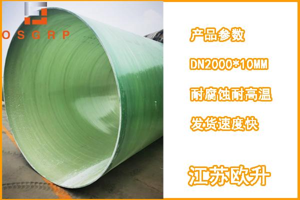 排污通风玻璃钢管道价格.