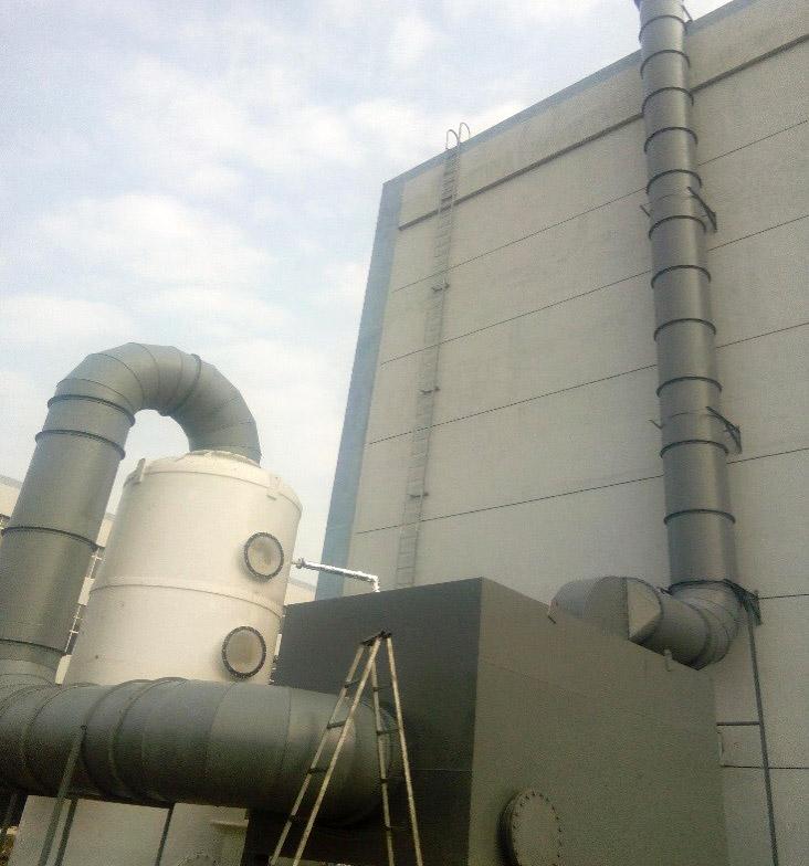 工厂废气净化排放工程案例